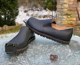 Австрийская компания представила умную обувь для людей с нарушениями зрения