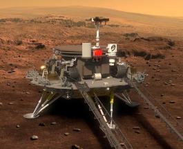 Первый китайский марсоход Zhurong успешно приземлился на Марс