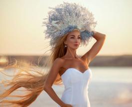 Украинская Рапунцель: фото Алены Кравченко которая не стригла волосы 30 лет