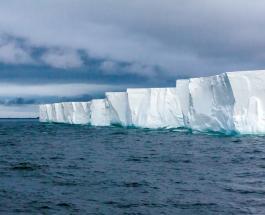 Айсберг больше острова Майорка откололся от ледника в Антарктике