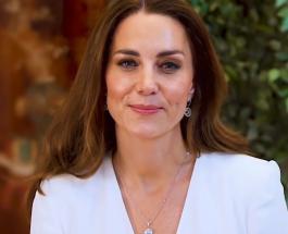Кейт Миддлтон в белоснежном наряде записала видеообращение для медсестер во всем мире