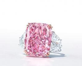 """Розовый бриллиант """"Сакура"""" продан на аукционе за рекордную сумму"""