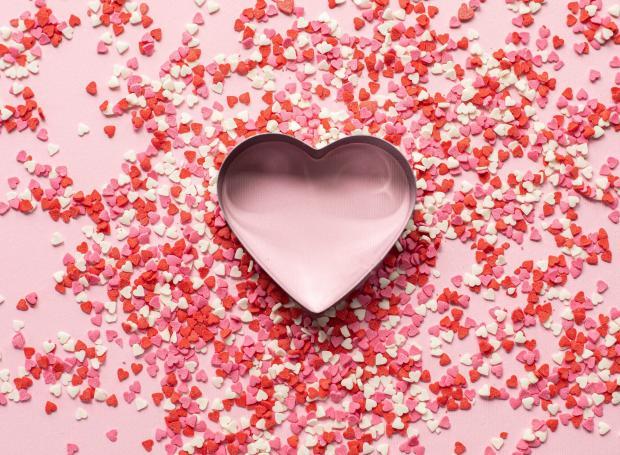 формочка в виде сердца