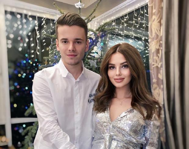 Лиана Шульгина и Арсений Шульгин