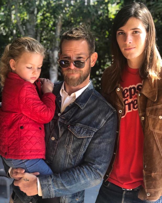 Внучка и сыновья Пирса Броснана