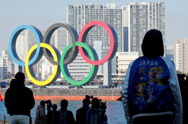 олимпийские кольца, Токио