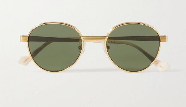 круглые солнцезащитные очки в стиле ретро