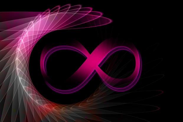символ бесконечности цифра 8