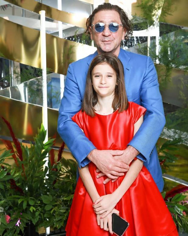 Григорий Лепс с дочкой