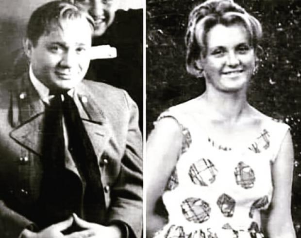 Ванда и Евгений Леонов