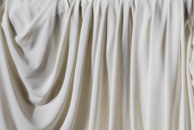 белая штора