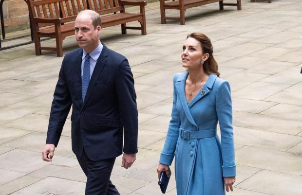 Кейт Миддлтон и принц Уиильям