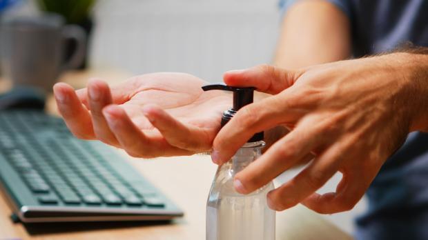 дезинфицирующий гель на руки