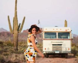 Американка превратила старый фургон в дом на колесах, чтобы путешествовать по стране