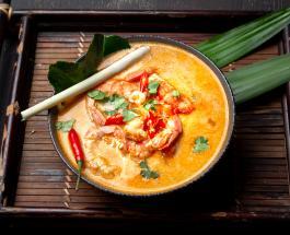 """Как приготовить """"Том Ям"""" - экзотический тайский суп с грибами и креветками"""