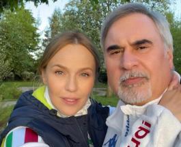Новое видео Валерия Меладзе с двухмесячной дочерью умилило поклонников пары