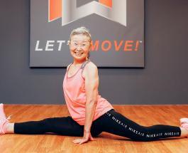 90-летняя японка работает тренером по фитнесу: фото и видео бодрой Такишимы Мики
