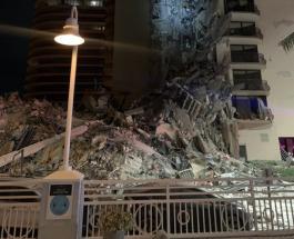 В Майами рухнул 12-этажный жилой дом: спасатели ищут под руинами выживших