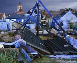 Три человека погибли во время торнадо на юго-востоке Чехии
