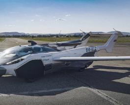Машина или самолет: трансформер AirCar совершил успешный полет над Словакией