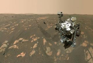 100 дней на Марсе: удивительные снимки Красной планеты сделанные марсоходом Perseverance