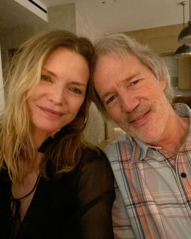 Мишель Пфайффер с мужем