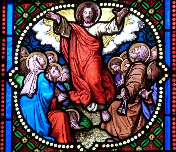 фрески Вознесения Господня