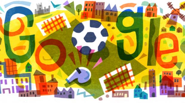новый дудл от Гугл