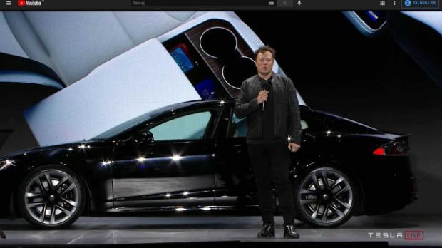 Илон Маск презентует новую машину