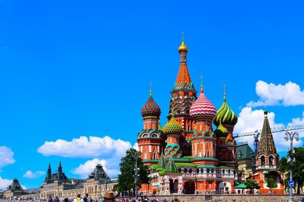 красивая церковь на Красной площади