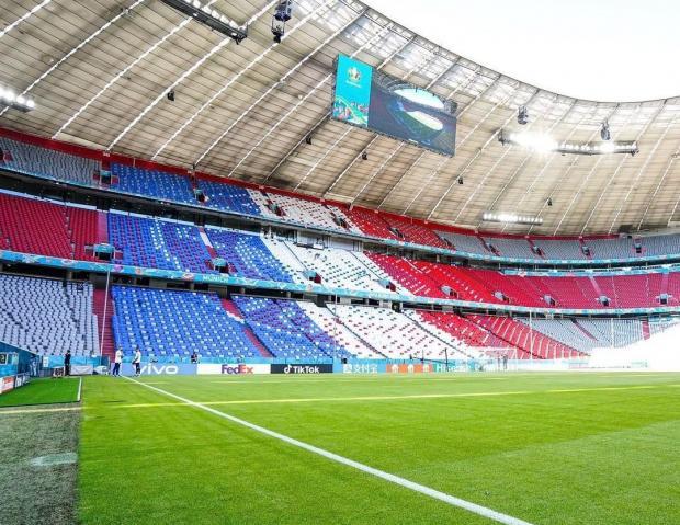 Альянц Арена в Мюнхене
