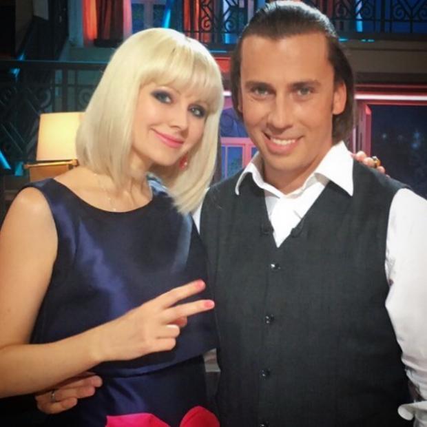Натали и Максим Галкин