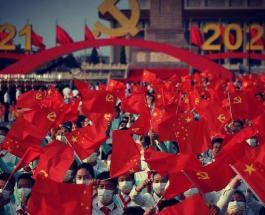 Коммунистическая партия Китая празднует 100-летие: фото и видео с торжественной церемонии