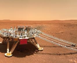 """Китай опубликовал новые снимки, сделанные марсоходом """"Zhurong"""""""