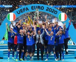 Сборная Италии во второй раз в истории стала Чемпионом Европы по футболу
