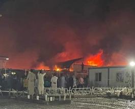 Пожар в иракской больнице унес жизни более 40 человек