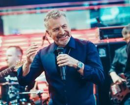 Леонид Агутин - именинник: с 53-летием певца поздравили самые близкие люди