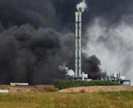 В Германии произошел взрыв на химическом заводе: возможна утечка токсичных веществ