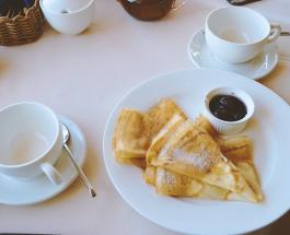 Блины с ветчиной и сыром — рецепт вкусного завтрака для всей семьи
