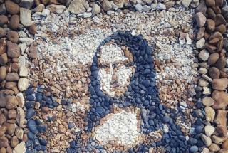 Мозаика из камней: фото удивительных работ художника из Великобритании