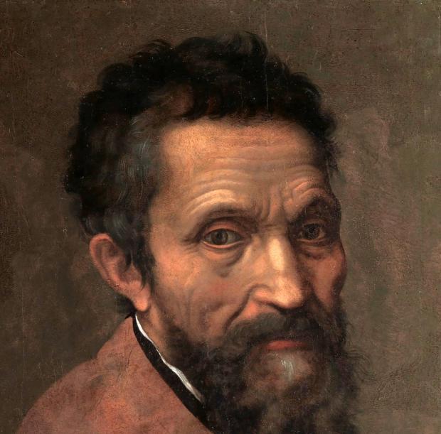 портрет микеладжело