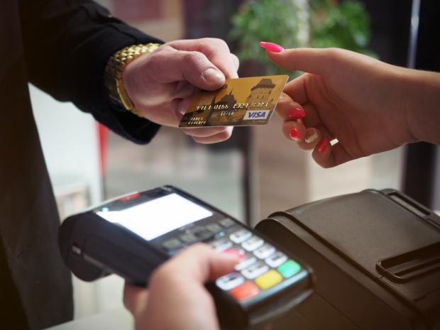 оплата в магазине пластиковой картой