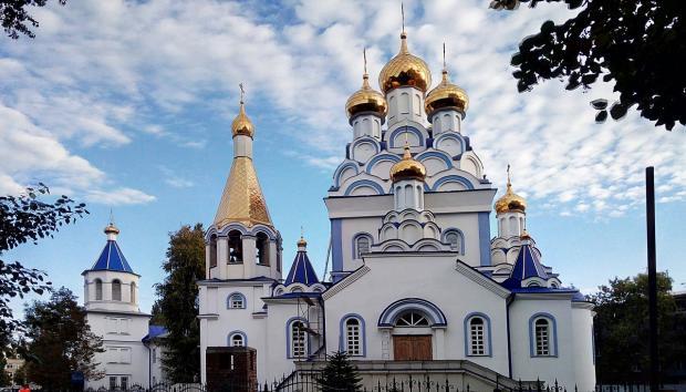 православный храм во имя равноапостольного князя Владимира