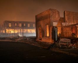 Пожар Дикси уничтожил целый город в штате Калифорния