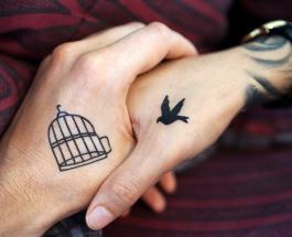 Креативные тату: 10 фото рисунков, меняющихся при движении тела