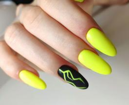 Черно-желтый маникюр: интересные идеи помогут украсить ногти и подчеркнуть стиль