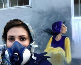 Красота во время войны: работы первой и единственной граффити-художницы Афганистана