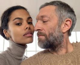 Венсан Кассель и Тина Кунаки снялись в новой рекламной кампании известного бренда