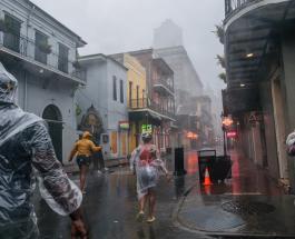 """Ураган """"Ида"""" временно изменил течение реки Миссисипи и обесточил Новый Орлеан"""