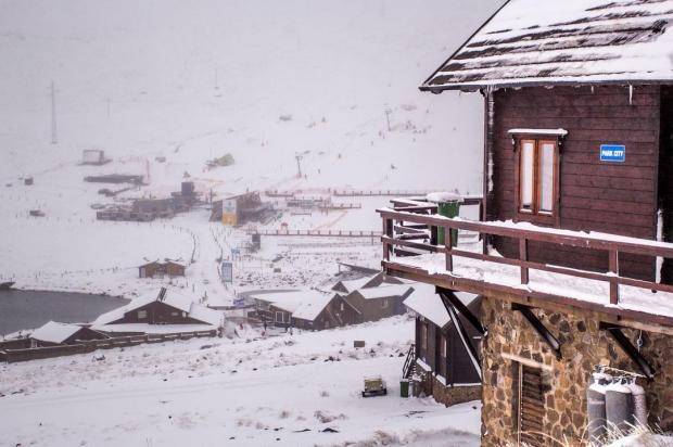 горнолыжный курорт в Африке